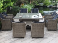Dubai 9 pc square outdoor